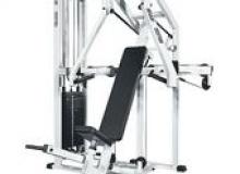 Тренажер: жим под углом вверх (мышцы груди).